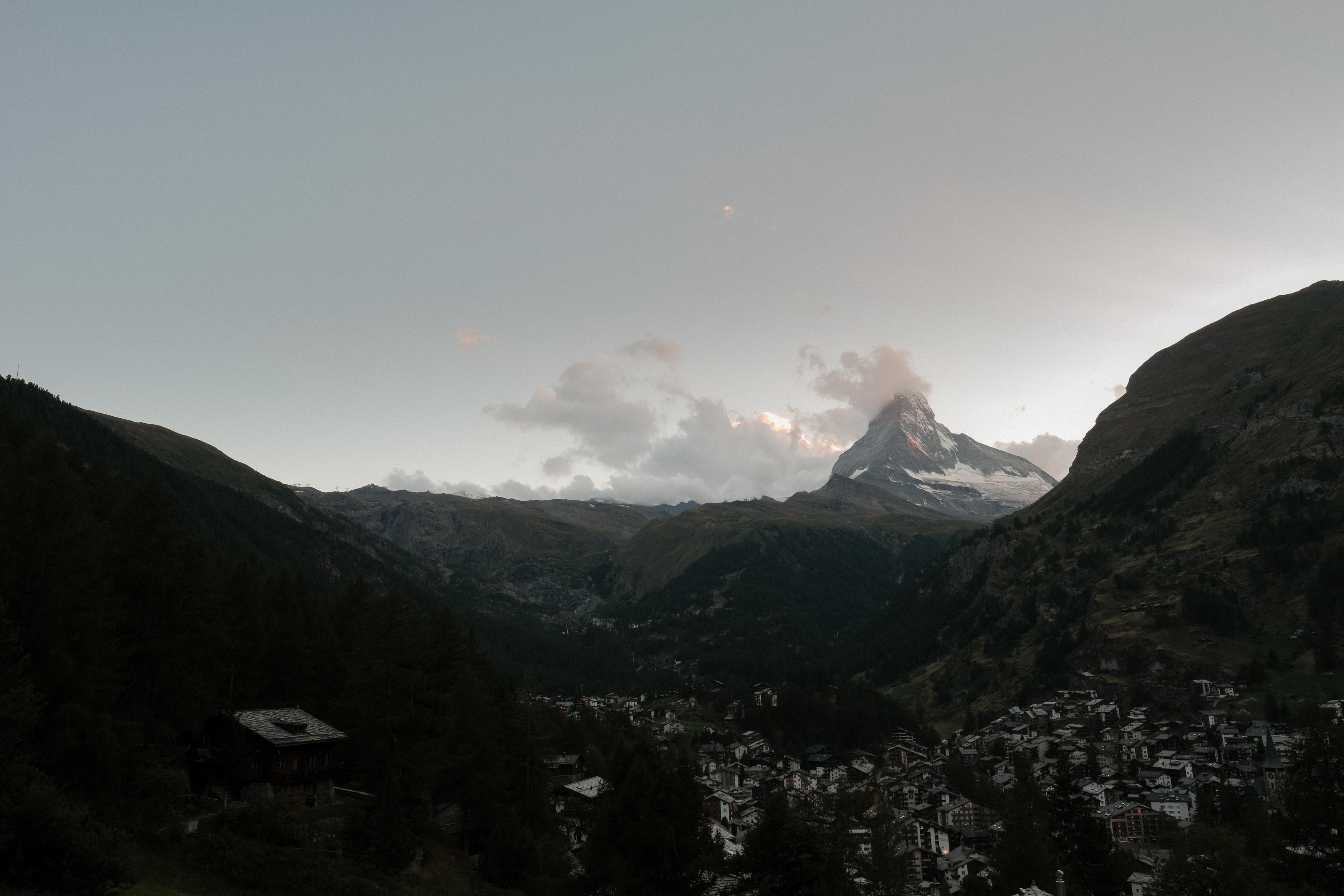 View on Matterhorn